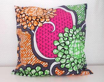 Cushion cover 40 X 40 cm 100% cotton wax Wax Collection