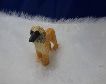 dog in resin for collection