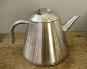 Unused,Metal,Stainless steel,Inox Tea Kettle, Whistling Tea Kettle