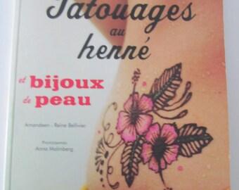 "Book ""henna tattoos and jewelry skin"""