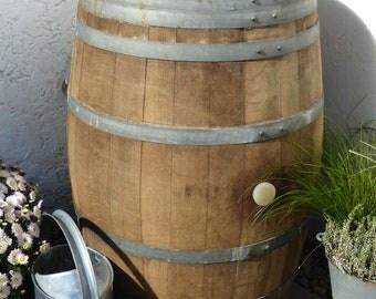 225L Wine Barrel as a rain-solid oak barrel as a rain ton