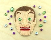 Slappy The Dummy The Goosebumps Brooch Embroidered with Beads