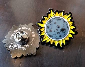 Total Solar Eclipse Enamel Pin