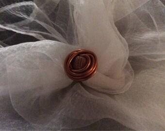 Ring style ethnic Orange