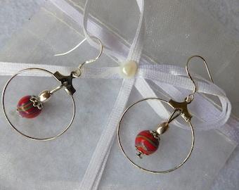 """Happiness"" earrings"