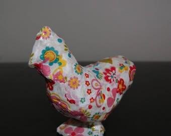 """""""Pop"""" hen, original home decor"""