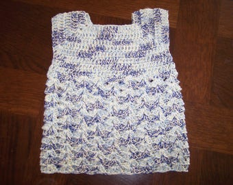 Baby sleeveless cotton dress