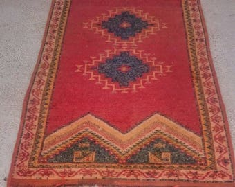 Berber carpet is handmade, Moroccan rug Moroccan carpet.