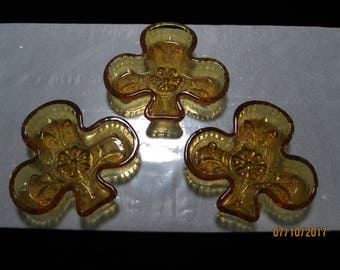 Tiara Glass Clubs in Amber