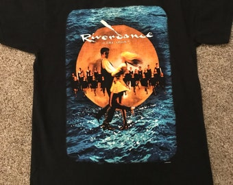 1990s River Dance Event T Shirt Size M