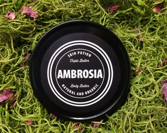 Skin Potion Ambrosia Triple Butter Body Butter Made With Organic Ingredients