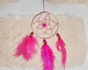 Dream catcher / pink handmade Dreamcatcher
