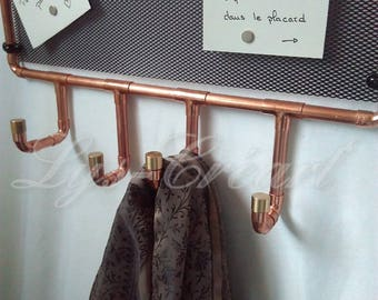 Coat of copper and magnetic Board