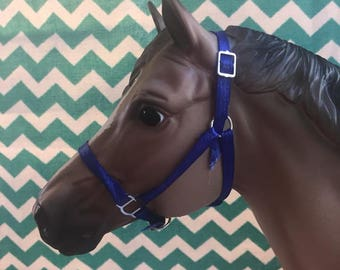 Model Horse Traditional (1:9 Scale) Satin Ribbon Halter