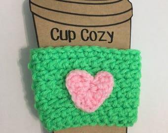 Green Cup Cozy