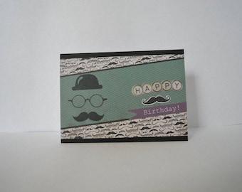 Card to wish a happy birthday
