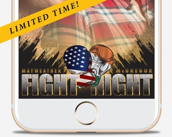 Fight Night Geofilter | Snapchat Filter | Adult Filter | Party Filter | UFC | Boxing
