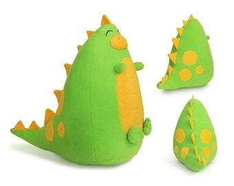 Fatty Dinosaur plush toy | Stuffed dinosaur plushie | Dinosaur stuffed toy | Plush dinosaur soft toy | Soft toys for babies