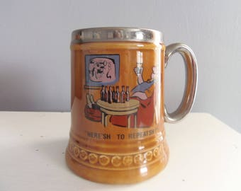LORD NELSON POTTERY Cartoon Mug