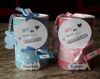 2 for godmother and Godfather survival kit