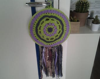 Mandalas catches dreams crochet