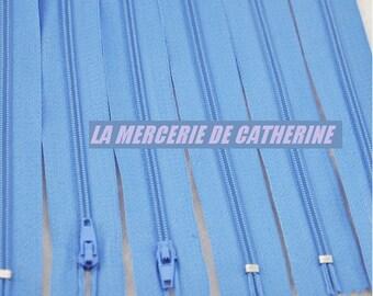 CLOSING A zip blue size 23.5 cm