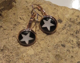 """Collection starry"" Stud Earrings"