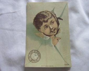 C 1885 Antique Victorian Trade Card Russ St Domingo Bitters