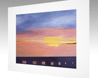 Art Print - Santa Barbara Sunset