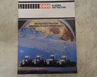 Case 94 Series 4WD Tractor Literature