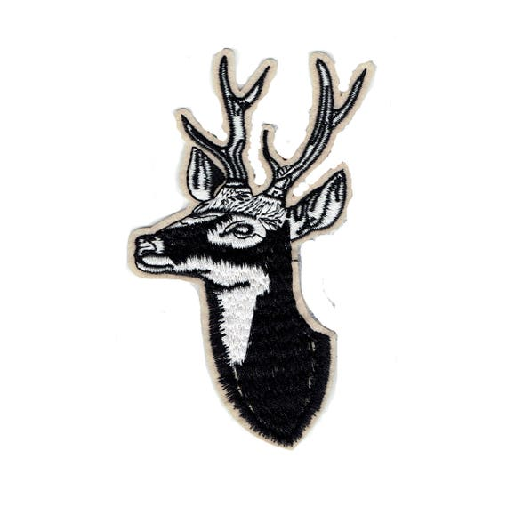 """Patch fusible """"deer"""" pattern"""