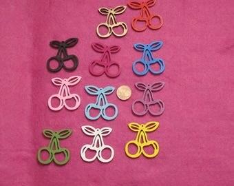 Cherry wood pendants