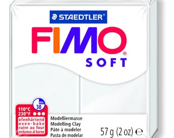Fimo Soft 57 g - white N 0 - Ref 68020000 (while quantities last)