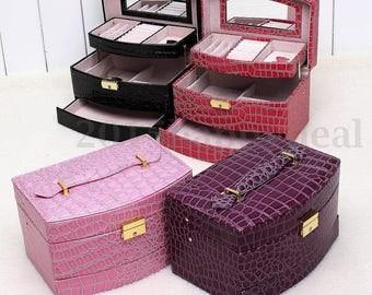 Pink 1 jewelry display box