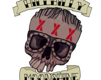 Hillbilly moonshine