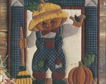 Pumpkin Head Wallhanging Quilt Kit