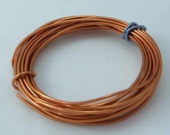 2 x 5 mm aluminum wire