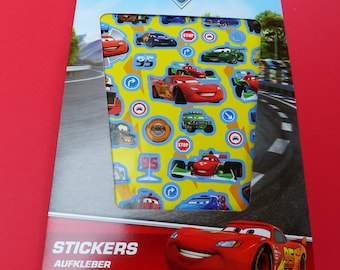book block stickers Cars 250 stickers in 4 pages