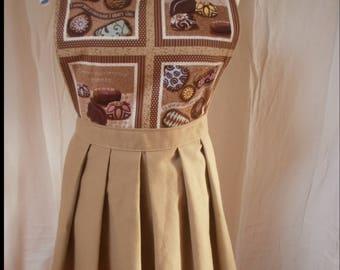 "retro style kitchen apron ""Marcelline"""