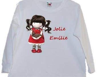 PERSONALIZED girl t-shirt