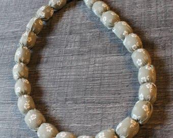 Balls necklace, handmade