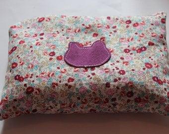 Floral printed baby heating pad