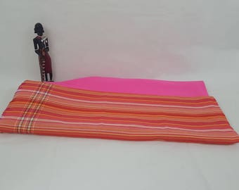 East African KIKOY Fleece Throw/ Blanket