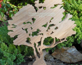 "WOODEN tree ""Hawthorn"""