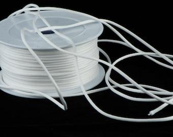 White rat tail cord