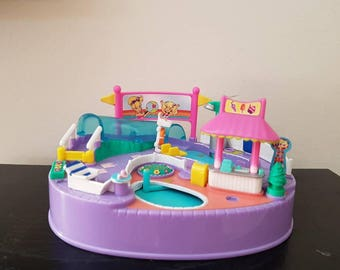 90's POLLY POCKET Magical Swimabout Bluebird Toys 1997, Polly Pocket Toys.