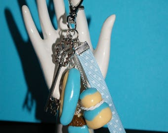 Jewelry bag, key fob in FIMO part4