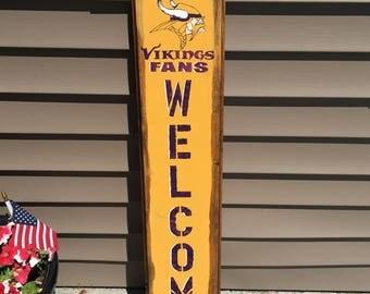 Minnesota Vikings 3' Sign