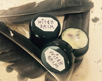 WITCH BALM - Herbal Salve for Spellwork