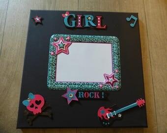 FRAME FOR GIRL/TEENAGER BLACK ROCK